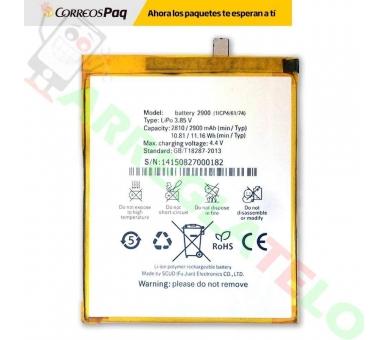 Batterij voor BQ X5 - vervanging - ORIGINELE CAPACITEIT BQ - 2