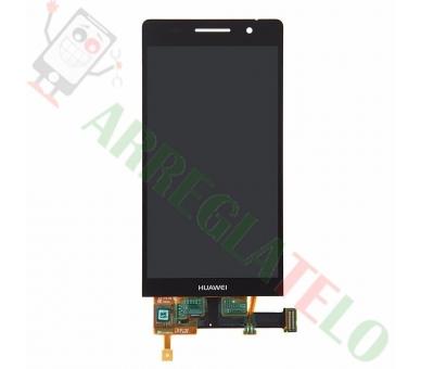 Volledig scherm voor Huawei Ascend P6-U06 Zwart Zwart FIX IT - 2
