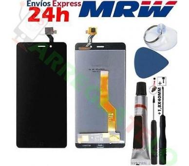 Volledig scherm voor Elephone P9000 Zwart Zwart FIX IT - 1