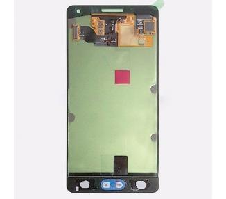 Oryginalny pełny ekran do Samsung Galaxy A5 A500 A500F Silver
