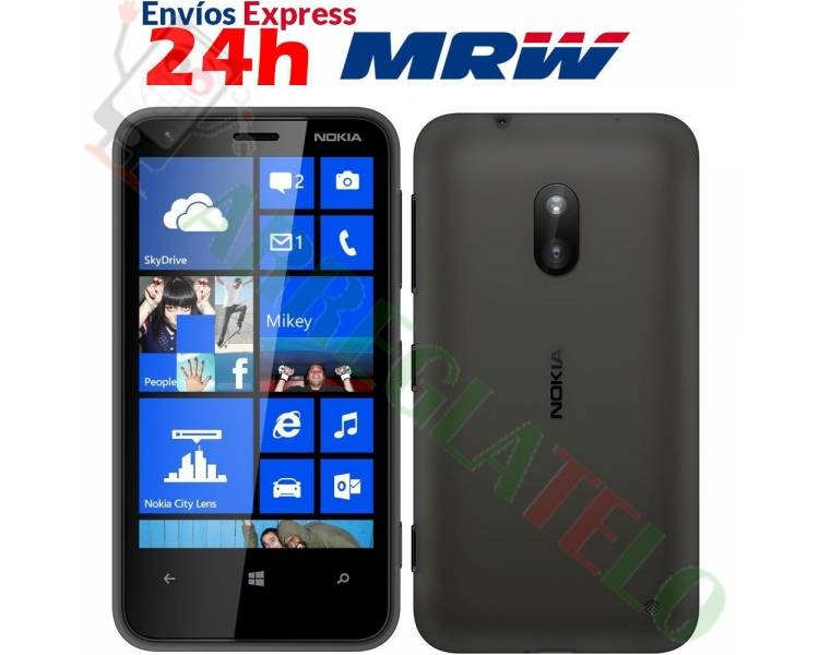 Nokia Lumia 620 | Black | 8GB | Refurbished | Grade A+ Nokia - 1