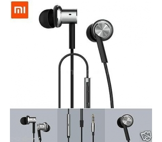 Original Xiaomi Hybrid Dual Drivers Earphones In-Ear Headphones Silver Xiaomi - 1