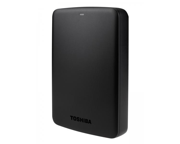 "External HDD - TOSHIBA CANVIO BASIC 2TB 2.5 USB 3.0 BLACK HDTB320EK3CA"" Toshiba - 1"