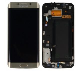 Pantalla Completa Original con Marco para Samsung Galaxy S6 Edge G925F Dorado Samsung - 2