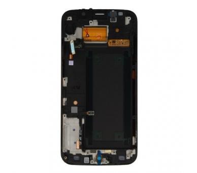 Origineel volledig scherm met frame voor Samsung Galaxy S6 Edge G925F Gold Samsung - 3