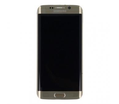 Pantalla Completa Original con Marco para Samsung Galaxy S6 Edge G925F Dorado Samsung - 4