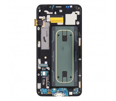 Pantalla Original con Marco para Samsung Galaxy S6 Edge Plus Edge+ Plata G928F Samsung - 2