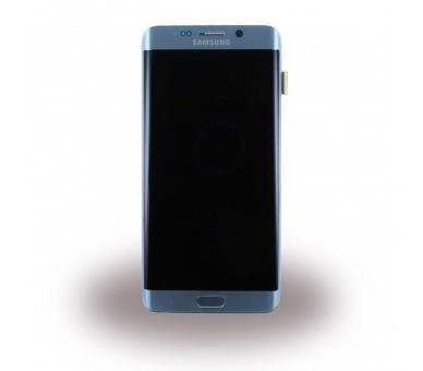 Original Bildschirm Display mit Rahmen für Samsung Galaxy S6 Edge Plus Edge+ Silber G928F Samsung - 3