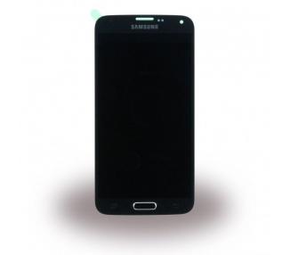 Oryginalny pełny ekran do Samsung Galaxy S5 Neo G903F SM-G903F Czarny Czarny