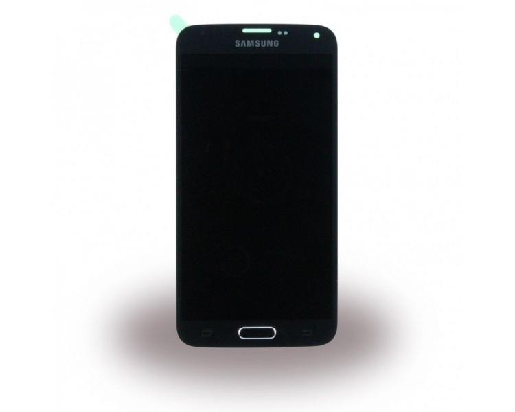 Origineel volledig scherm voor Samsung Galaxy S5 Neo G903F SM-G903F Zwart Zwart Samsung - 1