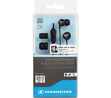 Sennheiser CX 275s - In-ear koptelefoon met microfoon voor iPhone Samsung LG ... Sennheiser - 3