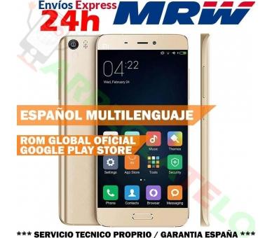Xiaomi Mi5 Snapdragon 820 3GB RAM 64GB ROM GPS Android 6.0 Meertalig goud Xiaomi - 1