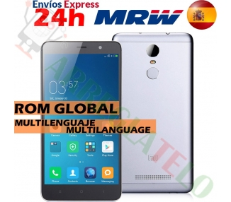 "Xiaomi Redmi Note 3 5.5 FHD 2GB 16GB Multilenguaje Gris"" Xiaomi - 1"