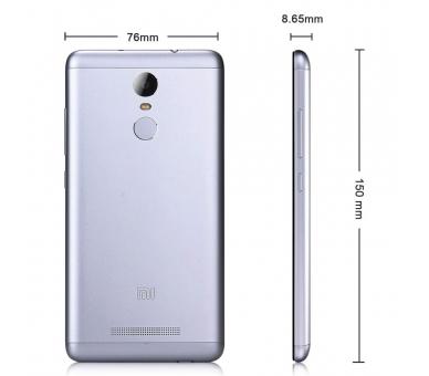 """Xiaomi Redmi Note 3 5.5"""" FHD 2GB 16GB Multilanguage Grau Xiaomi - 4"""