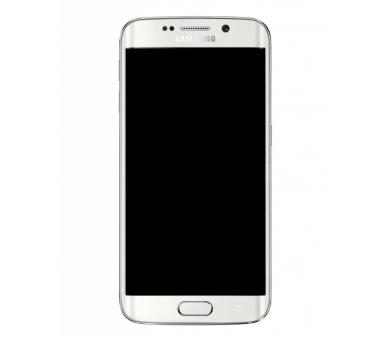 Original Bildschirm Display mit Rahmen für Samsung Galaxy S6 Edge G925F Weiß Samsung - 3