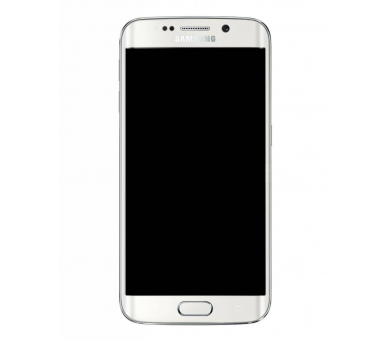 Display For Samsung Galaxy S6 Edge, Color White, With Frame, Original Amoled Samsung - 3