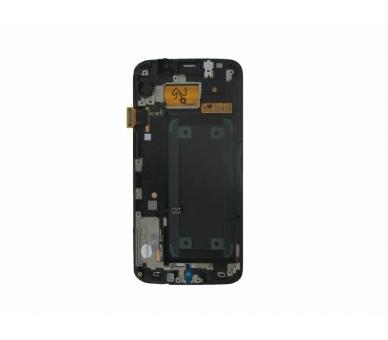 Original Bildschirm Display mit Rahmen für Samsung Galaxy S6 Edge G925F Weiß Samsung - 4