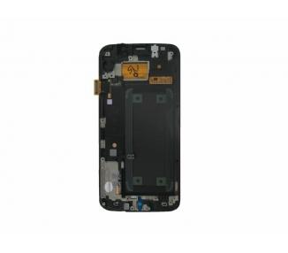 Oryginalny pełny ekran z ramką do Samsung Galaxy S6 Edge G925F biały