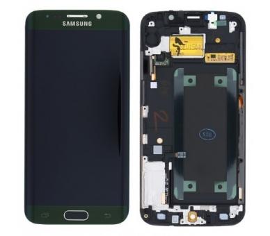Origineel volledig scherm met frame voor Samsung Galaxy S6 Edge G925F Green Samsung - 1