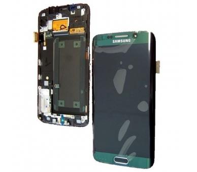 Pantalla Completa Original con Marco para Samsung Galaxy S6 Edge G925F Verde Samsung - 3