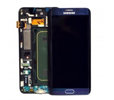Origineel scherm met frame voor Samsung Galaxy S6 Edge Plus G928F Black Samsung - 1