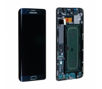 Origineel scherm met frame voor Samsung Galaxy S6 Edge Plus G928F Black Samsung - 2
