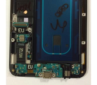 Origineel scherm met frame voor Samsung Galaxy S6 Edge Plus G928F Gold Gold Samsung - 2