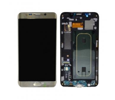 Origineel scherm met frame voor Samsung Galaxy S6 Edge Plus G928F Gold Gold Samsung - 3