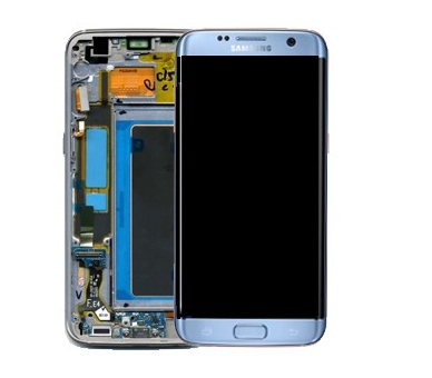 Origineel volledig scherm met frame voor Samsung Galaxy S7 Edge G935F blauw Samsung - 1