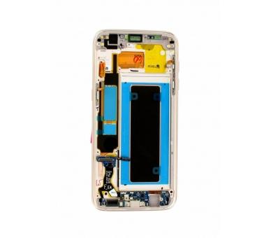 Origineel volledig scherm met frame voor Samsung Galaxy S7 Edge G935F blauw Samsung - 2