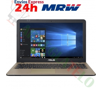 ASUS X540SA-XX311T Portatil 15.6 Celeron N3050 2x1.6GHZ 4GB RAM 500GB