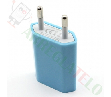 Cargador Universal USB Para Samsung Nokia Huawei HTC LG BQ ZTE + Cable Micro USB  - 5