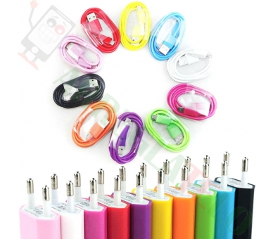 Universele USB-oplader voor Samsung Nokia Huawei HTC LG BQ ZTE + Micro USB-kabel  - 16
