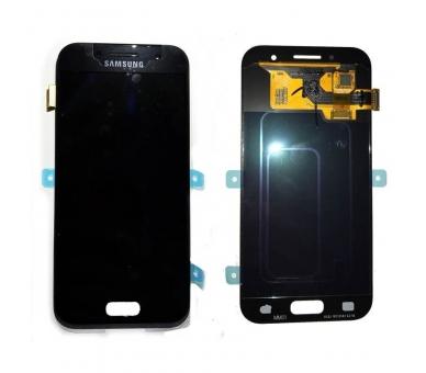 Origineel volledig scherm voor Samsung Galaxy A3 2017 A320F A320FU Zwart Zwart Samsung - 1