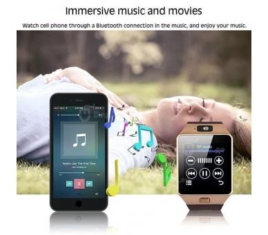 Smart Watch DZ09 SmartWatch Sim Android-telefoon IOS Bluetooth-camera  - 7