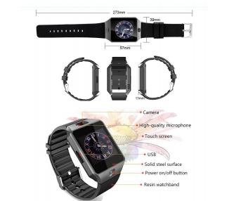 Inteligentny zegarek DZ09 SmartWatch Sim Android Phone IOS Bluetooth Camera