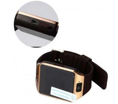 Reloj Inteligente DZ09 SmartWatch Sim Telefono Android IOS Bluetooth Cámara  - 5