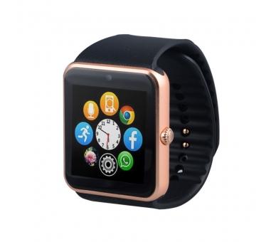 Smart Watch GT08 SmartWatch Sim Android-telefoon IOS Bluetooth-camera  - 3
