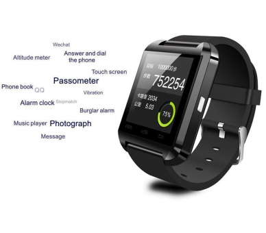 U8 Smartwatch Smart Watch Phone Sim Kamera Bluetooth Android IOS  - 6