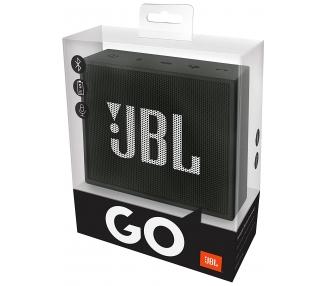 JBL Go - Altavoz portátil para smartphones, tablets y dispositivos MP3, Negro JBL - 1