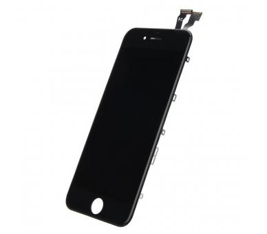 """Bildschirm Display mit Rahmen für Apple iPhone 6 4.7"""" Schwarz Schwarz ARREGLATELO - 2"""