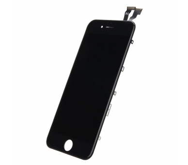 Pantalla Completa con Marco Lcd y Tactil para Apple iPhone 6 Negro Negra ULTRA+ - 2