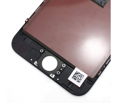 """Bildschirm Display mit Rahmen für Apple iPhone 6 4.7"""" Schwarz Schwarz ARREGLATELO - 3"""