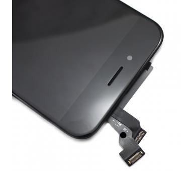 """Bildschirm Display mit Rahmen für Apple iPhone 6 4.7"""" Schwarz Schwarz ARREGLATELO - 4"""