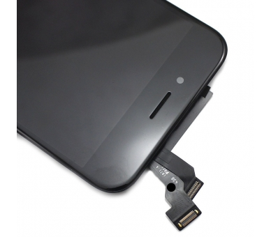 Pantalla Completa con Marco Lcd y Tactil para Apple iPhone 6 Negro Negra ULTRA+ - 5