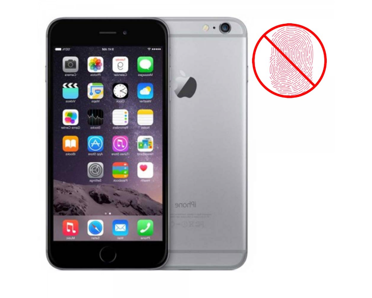 Apple iPhone 6 64 GB - Spacegrijs - Zonder Touch iD - A + Apple - 1