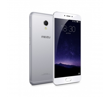 Meizu MX6 32GB 4G 3G RAM DECA CORE FHD 12 MPX Zilver Wit Meizu - 1