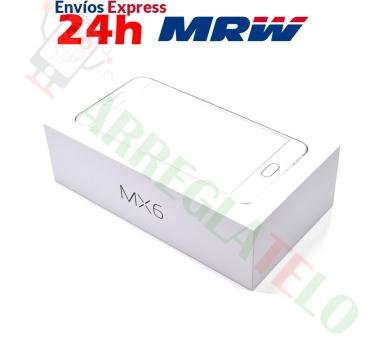 Meizu MX6 32GB 4G 3G RAM DECA CORE FHD 12 MPX Zilver Wit Meizu - 4