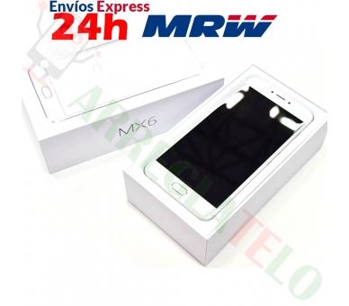 Meizu MX6 32GB 4G 3G RAM DECA CORE FHD 12 MPX Zilver Wit Meizu - 5