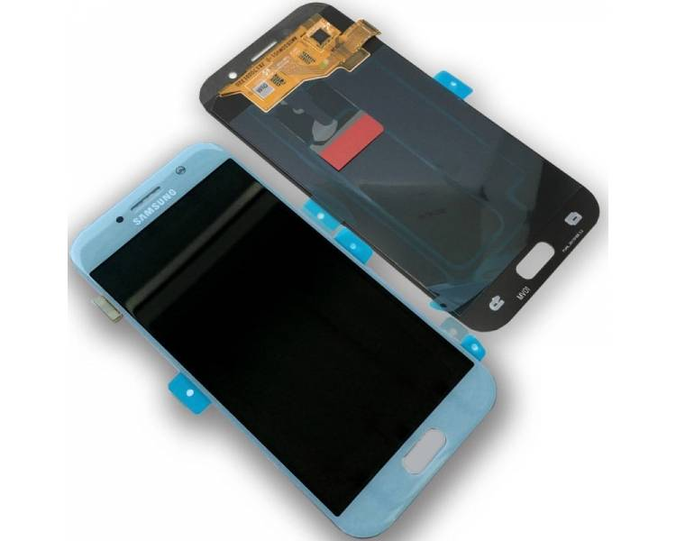 Oryginalny pełny ekran do Samsung Galaxy A5 A520F 2017 Blue